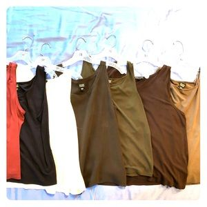 Eileen Fisher tank tops various colors